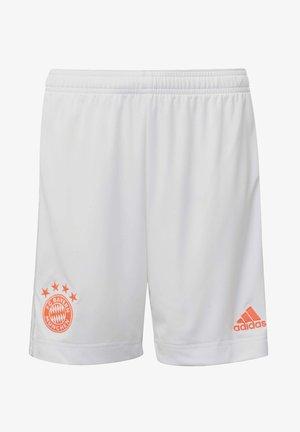 FC BAYERN MÜNCHEN AWAY SHORTS - Sports shorts - white
