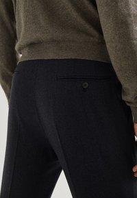 Massimo Dutti - Suit trousers - blue - 4