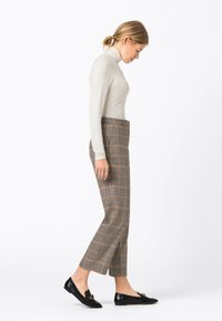 HALLHUBER - A PRINCE OF WALE - Trousers - multi-coloured - 1
