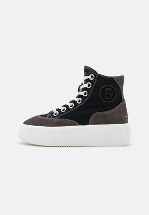 Sneakersy wysokie - black/iron