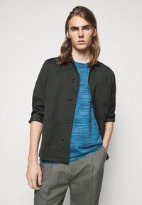 Missoni - SHORT SLEEVE - T-shirt con stampa - blue - 3