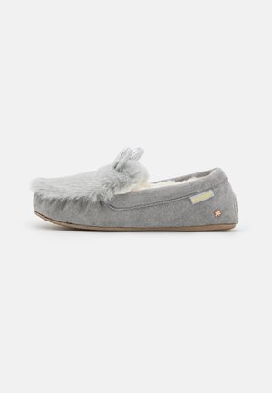 LOAFER MOUSE METALLIC - Slippers - ice grey