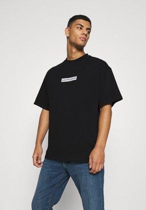 AKHOLGER LOGO - T-shirt print - caviar