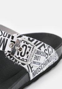 Love Moschino - T-bar sandals - fantasy color - 6