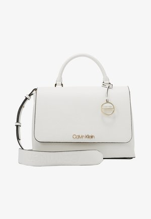 SIDED TOP HANDLE - Handbag - white