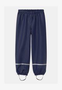 LEGO Wear - POWAI UNISEX - Rain trousers - dark navy - 0