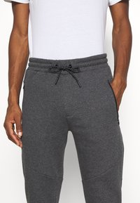 Pier One - Pantaloni sportivi - mottled dark grey - 5