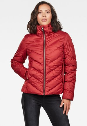 WHISTLER SLIM DOWN HOODED - Down jacket - dk baron