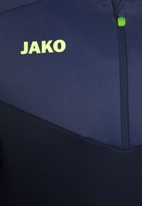 JAKO - ZIP CHAMP 2.0 - Fleece jumper - marine/blue/neongelb - 3
