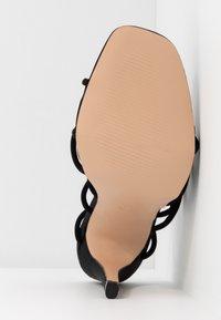 Public Desire - SAVY - Sandály na vysokém podpatku - black - 6