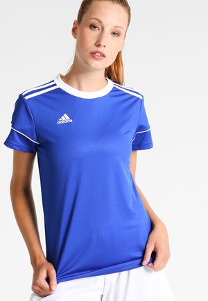 CLIMALITE PRIMEGREEN JERSEY SHORT SLEEVE - Camiseta estampada - bold blue/white