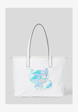 BALLOON CHOUP  - Tote bag - white