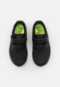 Nike Performance - STAR RUNNER 2 UNISEX - Hardloopschoenen neutraal - black/anthracite/volt - 3