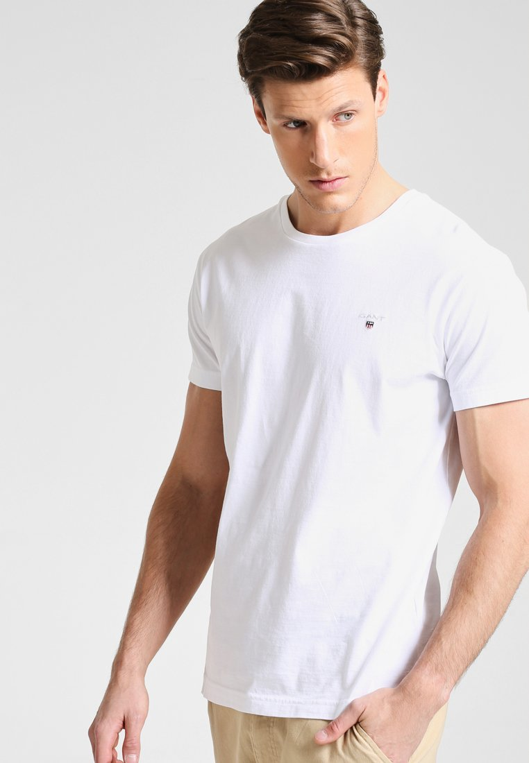 GANT - THE ORIGINAL - T-shirt - bas - white
