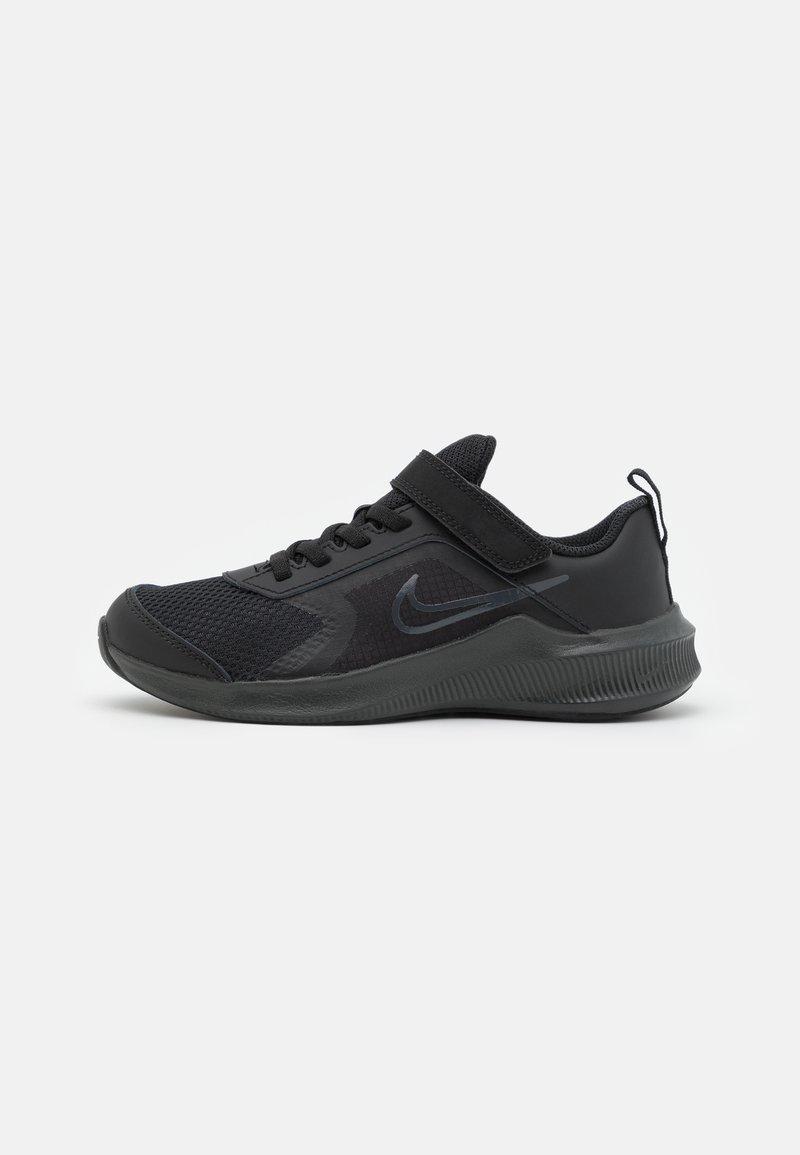 Nike Performance - DOWNSHIFTER 11 UNISEX - Neutral running shoes - black/dark smoke grey