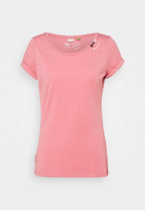 FLORAH - Basic T-shirt - pink