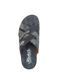 Rieker - Slippers - ozean/denim - 1