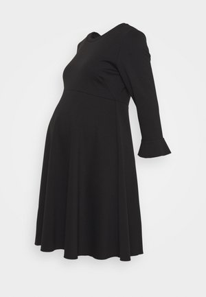 VOLANT MANICA - Sukienka z dżerseju - black