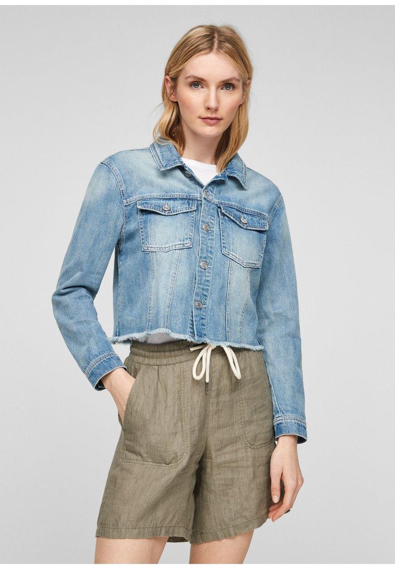 s.Oliver - Denim jacket - light blue