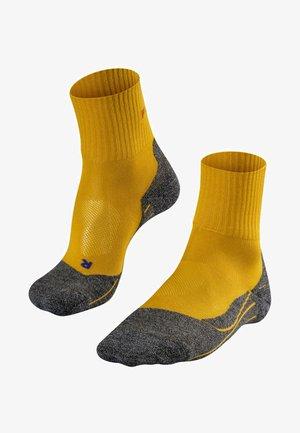 TK2 SHORT COOL - Sportsocken - mustard yellow