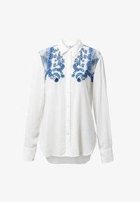 Desigual - BARCINO - Button-down blouse - white - 4