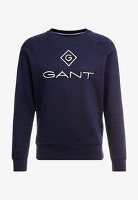 GANT - LOCK UP CREW NECK - Sweatshirt - evening blue - 3