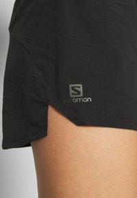 Salomon - SENSE SHORT - Sports shorts - black - 4