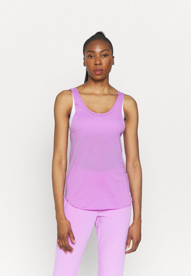 Nike Performance - BREATHE TANK COOL - Top - fuchsia glow