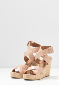 ONLY SHOES - ONLAMELIA WRAP  - High heeled sandals - nude - 4