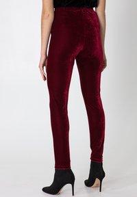 Indiska - Leggings - Trousers - red - 2