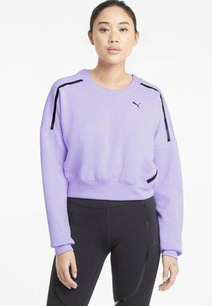 TRAIN ZIP CREW - Sweatshirts - light lavender