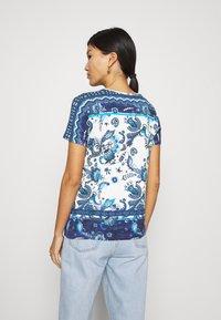 Desigual - MELIAN - T-shirt con stampa - azul dali - 2