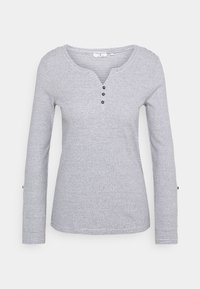TOM TAILOR - Long sleeved top - offwhite navy - 0