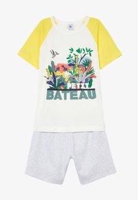 Petit Bateau - FITOU SET - Pyjama set - yellow/grey/white - 3