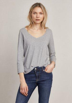 NINAH - Long sleeved top - grey melange