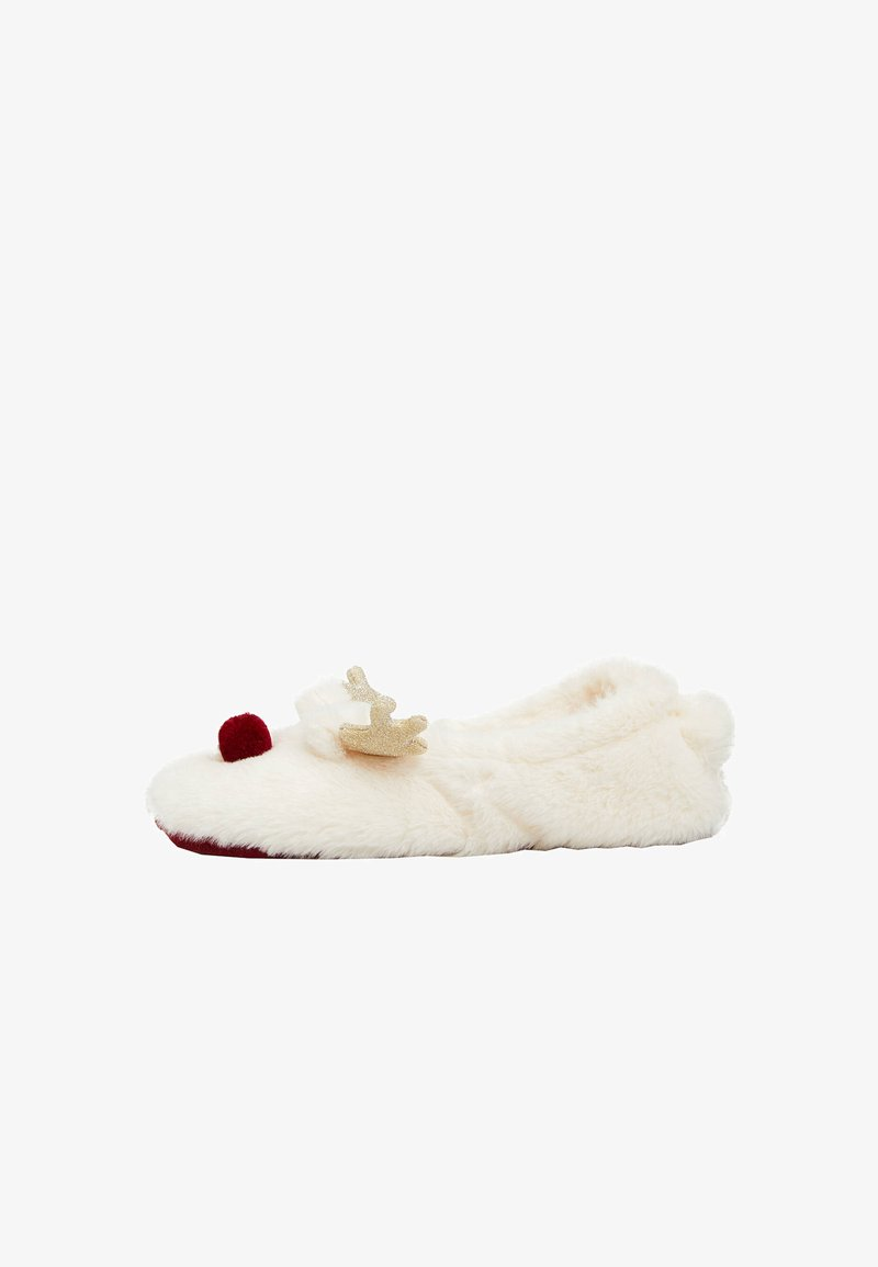OYSHO - Slippers - white