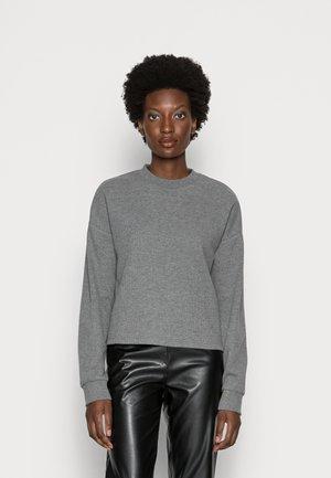 WAFFLE - Sweter - mottled grey
