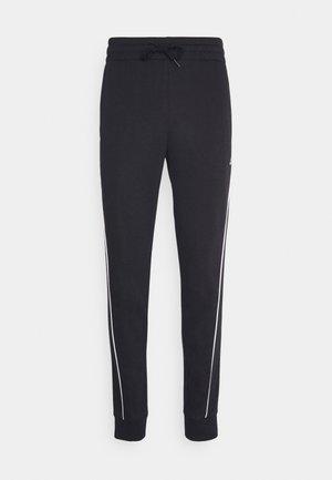 FAVS  - Pantalon de survêtement - black/white