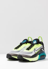 Nike Sportswear - AIR MAX 2090 - Trainers - white/black/volt/valerian blue - 4