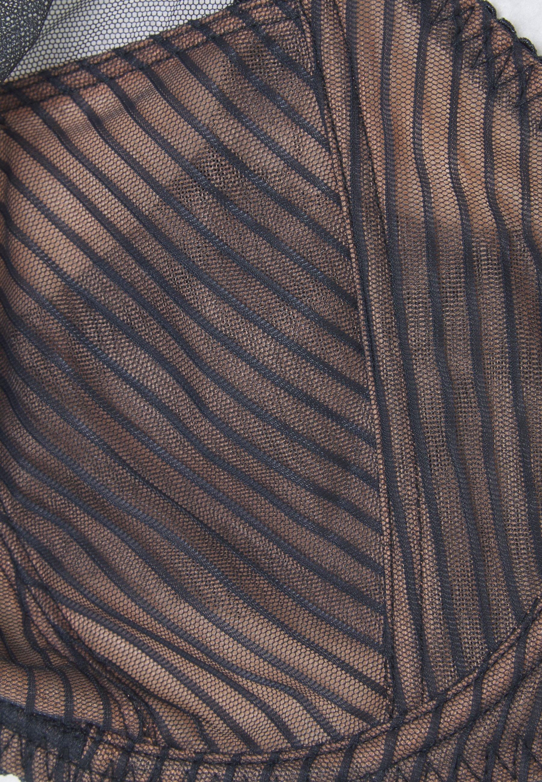Confortevole Curvy Kate VICTORY PIN UP BRA  Reggiseno con ferretto  black/slate GNBnN