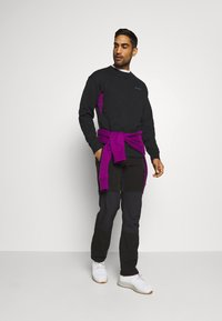 Columbia - BUGA CREW - Sweatshirt - black/plum - 1