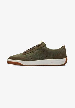 Sneakers basse - olive suede