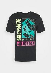 Jordan - MOUNTAINSIDE CREW - Print T-shirt - black - 0