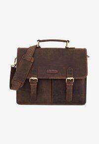 OAKLAND - Briefcase - nutmeg
