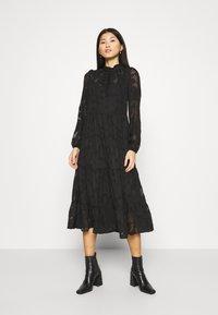 Cream - CRJELENA DRESS 2-IN-1 - Shirt dress - pitch black - 0