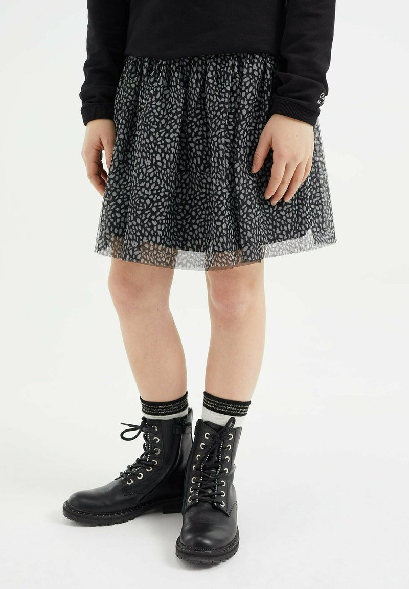 WE Fashion - A-line skirt - black