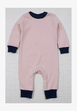 Basic Plain Stylish Jumpsuit (0 to 3 years) - Jumpsuit - powder pink