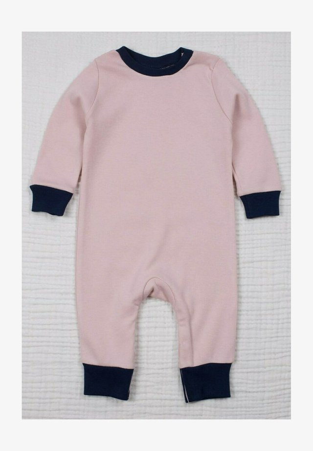 Basic Plain Stylish Jumpsuit (0 to 3 years) - Jumpsuit - powder pink