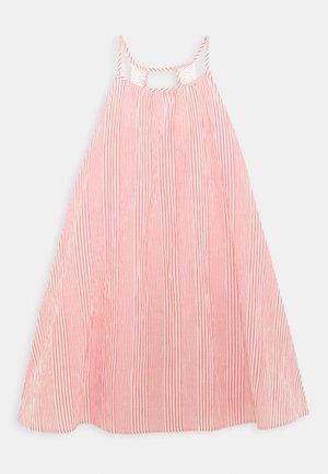 NKFJOSLYN STRAP MIDI DRESS - Day dress - calypso coral