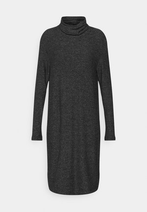 ROLL NECK DRESS - Jumper dress - grey